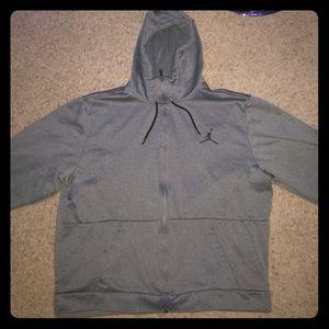 Jordan zip up hoodie